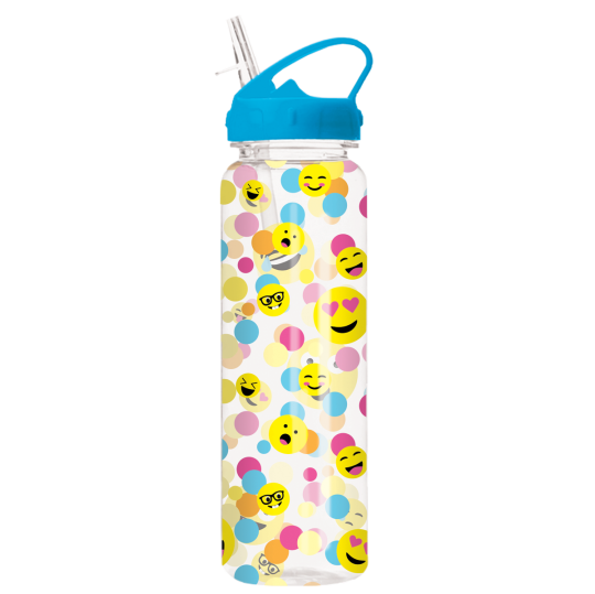 Picture of Confetti Emojis Water Bottle