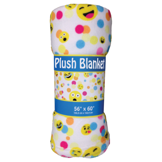 Picture of Confetti Emojis Plush Blanket
