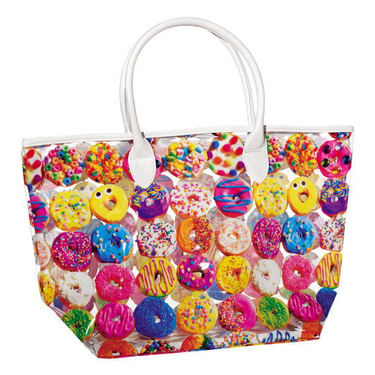 Picture of Assorted Donuts Clear Tote Bag