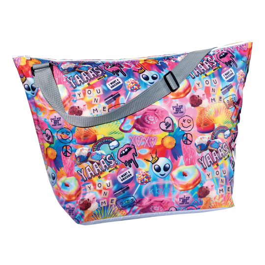 Picture of Psychedelic Collage Weekender Bag