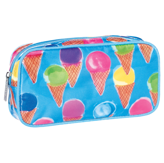 Picture of Watercolor Cones Small Cosmetic Bag