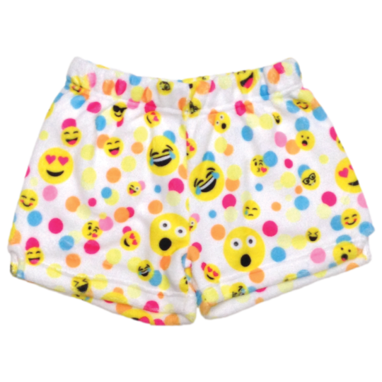 Picture of Confetti Emojis Plush Shorts