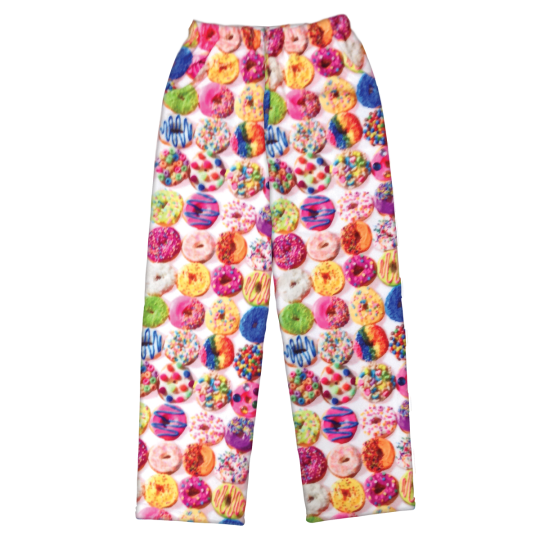 Picture of Assorted Donuts Plush Pants