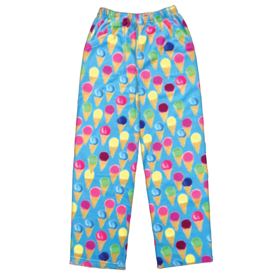 Picture of Watercolor Cones Plush Pants