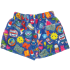 Picture of Embroidered Patches Plush Shorts