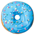 Picture of Blue and Pink Donut Microbead Pillow - Frosted Cake Scented