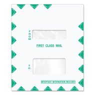 Picture for manufacturer 9.5 x 11.5 Double Window Tax Software Envelope