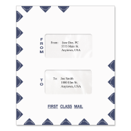 Picture for manufacturer 9.5 x 11.5 Large Window Tax Software Envelope