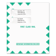 Picture for manufacturer 9.5 x 11.5 Small Window Tax Software Envelope