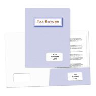 Picture for manufacturer Success Tax Return Folders (Light Blue)