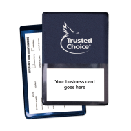 Picture of Trusted Choice Insurance Card Holder