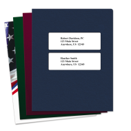 Picture of Double Centered Window Tax Software Folders