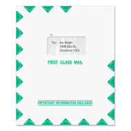 Picture for manufacturer 9.5 x 11.5 Single Window Tax Software Envelope