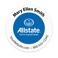 Picture for manufacturer Allstate - Insurance Agency Sticker