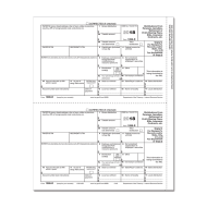 Picture for manufacturer Form 1099-R - Copy C/ 2 Recipient (5142)