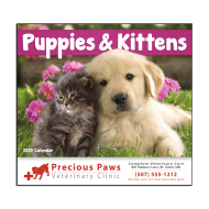 Picture for manufacturer Puppies & Kittens Wall Calendar