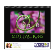 Picture for manufacturer Motivations Wall Calendar - Spiral