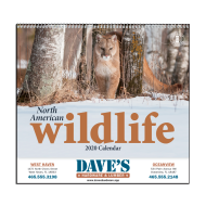 Picture for manufacturer North American Wildlife Wall Calendar