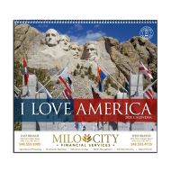 Picture for manufacturer I Love America Wall Calendar