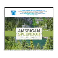 Picture for manufacturer Scenic American Splendor Large Wall Calendar
