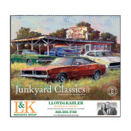 Picture for manufacturer Junkyard Classics Wall Calendar