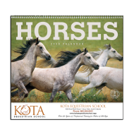 Picture for manufacturer Horses Wall Calendar
