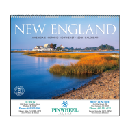 Picture for manufacturer New England Tour Wall Calendar