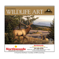 Picture for manufacturer Wildlife Art by the Hautman Brothers Wall Calendar