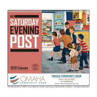 Picture for manufacturer The Saturday Evening Post Wall Calendar - Spiral