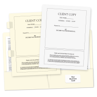 Picture of Client Copy Tax Return Folders