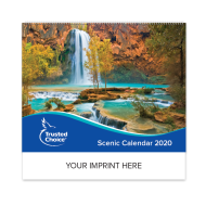 Picture for manufacturer Trusted Choice® Custom Scenic Wall Calendar