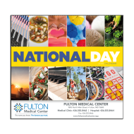 Picture for manufacturer National Day Wall Calendar