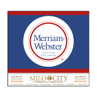 Picture for manufacturer Word A Day by Merriam Webster Wall Calendar