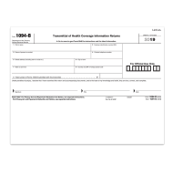 Picture for manufacturer Form 1094-B Transmittal of Health Coverage (1094BT)