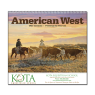 Picture for manufacturer American West Wall Calendar
