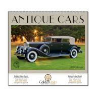 Picture for manufacturer Antique Cars Wall Calendar