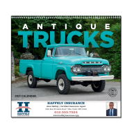 Picture for manufacturer Antique Trucks Wall Calendar