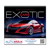 Picture for manufacturer Exotic Cars Wall Calendar