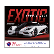 Picture for manufacturer Exotic Sports Cars Wall Calendar