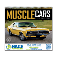 Picture for manufacturer Muscle Cars Wall Calendar