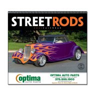 Picture for manufacturer Street Rods Wall Calendar - Spiral