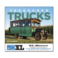 Picture for manufacturer Treasured Trucks Wall Calendar