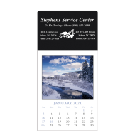 Picture for manufacturer Rectangle Scenic Stick-On Calendar