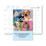 Picture for manufacturer Puppies & Kittens Monthly Pocket Planner (CB06)