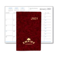 Picture of Marble Monthly Pocket Planner