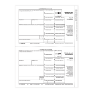 Picture for manufacturer Form 1099-DIV - Copy B/ 2 Recipient (5131)