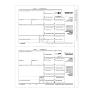 Picture for manufacturer Form 1099-DIV - Copy C/ 1 Payer State (5132)