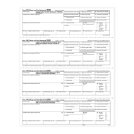 Picture for manufacturer Form W-2 - Employee Copies - Condensed - 4up - Version 2 (5218)