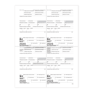Picture for manufacturer Form W-2 - Employee Copies B/C/2/2 - 4up Version 1 (5214)