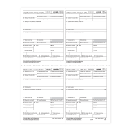 Picture for manufacturer Form W-2 - Employer Copies - Condensed - 4up Version 1 (5405)